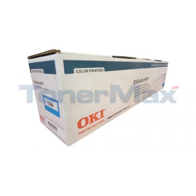 OKIDATA ES3640E TONER CARTRIDGE CYAN